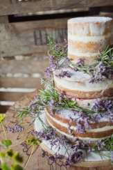 Naked wedding cake inspiration and wedding cake ideas on the Knot & Pop blog
