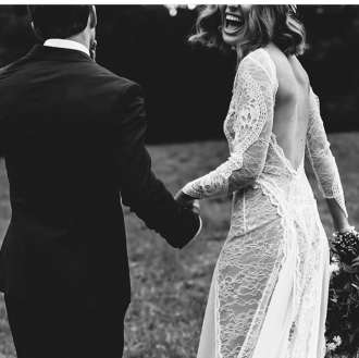 Grace Loves Lace wedding dress and boho wedding inspiration