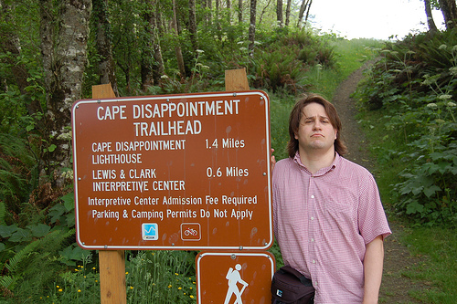 """Cape Disappointment is Disappointing"" by iotae (2006), shared under a Creative Commons Attribution License"