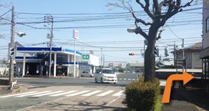 湖山駅から道順2