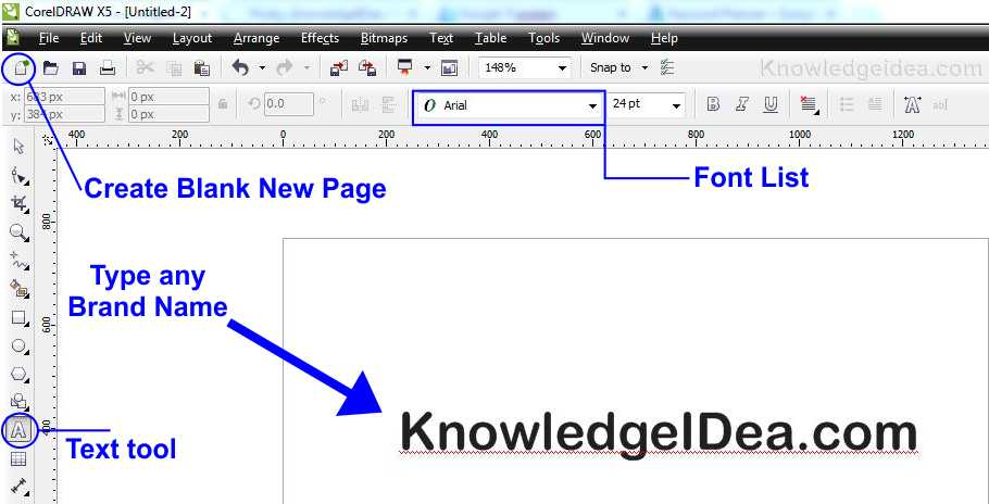How To Make a Watermark in Corel Draw x5