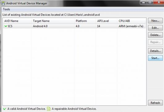 Android Emulator for PC step 5