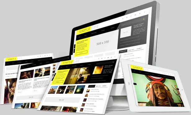 Simple-Life Simple WordPress Theme