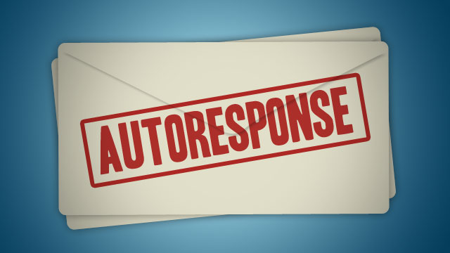 How to Setup Auto-Responder on Business Email