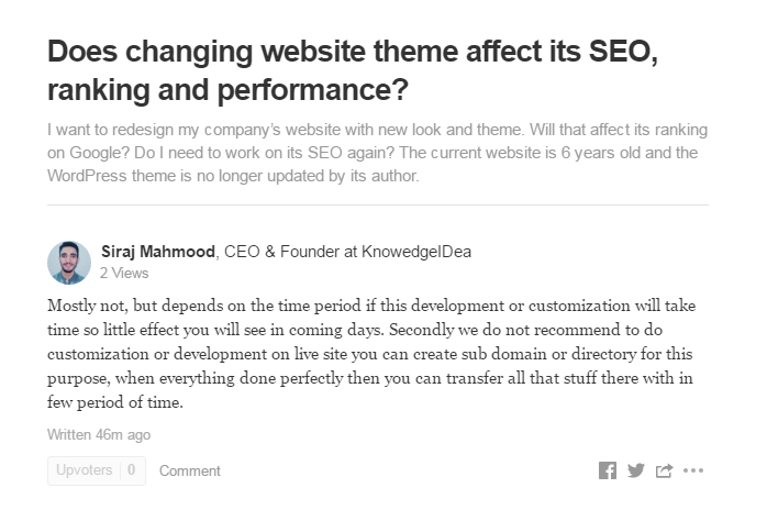 Does Changing Website Theme Effect on Seo Rank