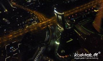 Ausblick vom Restaurant AT.MOSPHERE Dubai