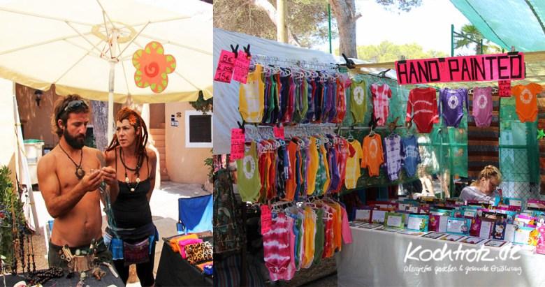 Hippimarkt in Es Canar, Ibiza