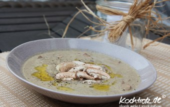 Champignons-Cremesuppe fructosearm