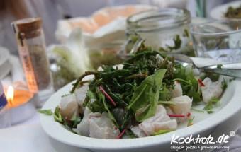 Ceviche vom Papageifisch - Diner en blanc 2012