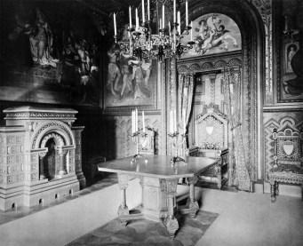 Arbeitszimmer (4) – Schloss Neuschwanstein, Königliche Wohnung