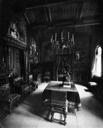 Speisezimmer (2) – Schloss Neuschwanstein, Königliche Wohnung