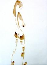 Aurora Sketch in paint