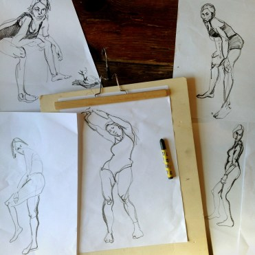 model sketches