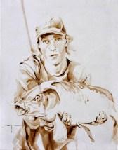 Fisherman 07 | Acrylic on sailcloth | 70x90 cm |850€