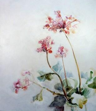 Finca Flowers 02| Acrylic on wooden panel | 70x80 cm | 850€