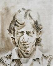 Hugo Hovenkamp AZ   Acrylic on linnen canvas  70x80 (?) cm   750€