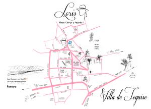Loris Map Teguise Lanzarote ES