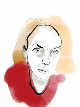 Self Portrait digital drawing