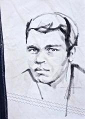 Mohammed Ali|Acrylic on sailcloth | 50x70 cm | 650€
