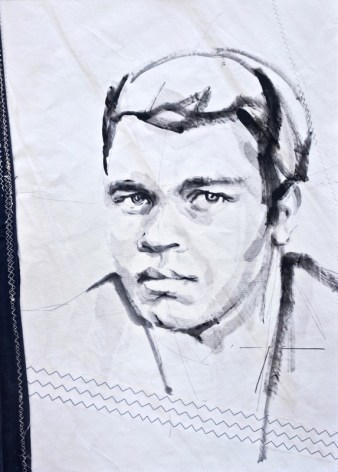 Mohammed Ali, portrait painting drawing