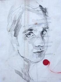 Jett Rebel |Acrylic on sailcloth | 30 x 42 cm | 595€