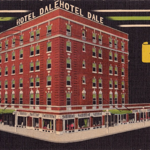 Hotel Dale - 206 West 8th Street, Coffeyville, Kansas U.S.A. - 1946
