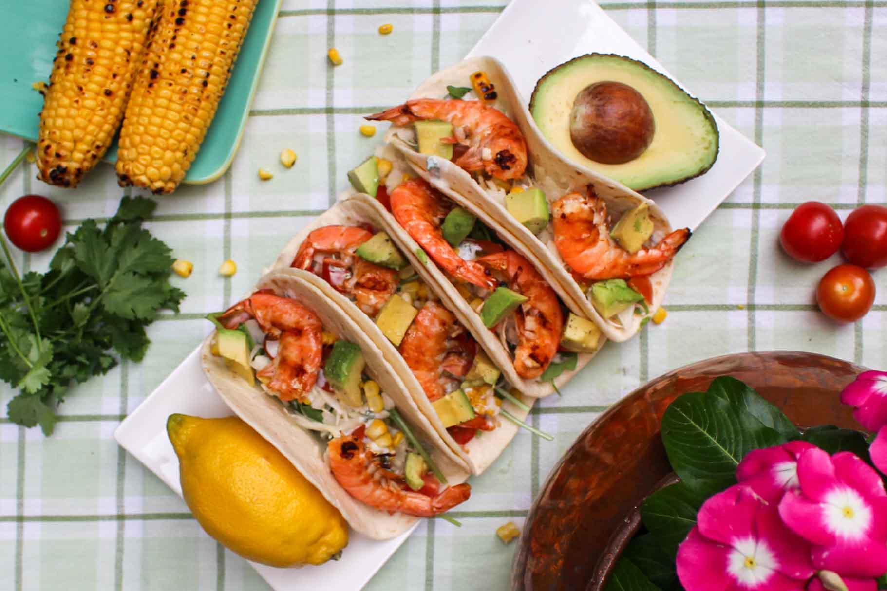 taco met scampi