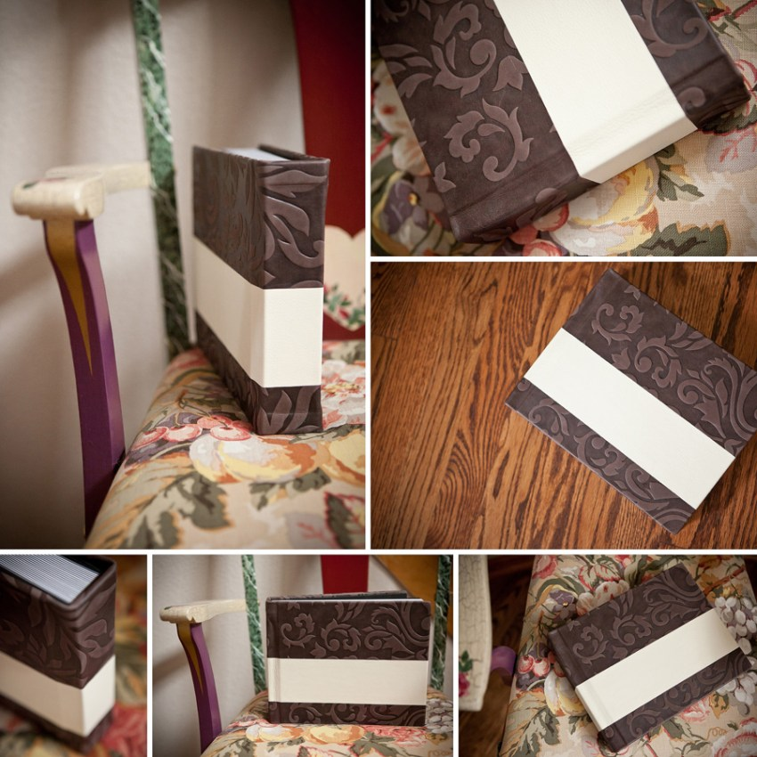 Colorado Wedding Albums - Finao Sample Covers