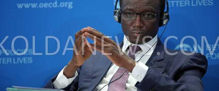 amadou ba ministre economie finance sénégal