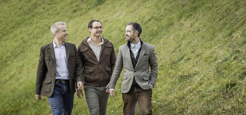 Kollektiv Nordost, Roman Haene, Siulvio Spieler und Louis Wenger