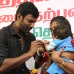 Actor Vishal Fans Meet Stills