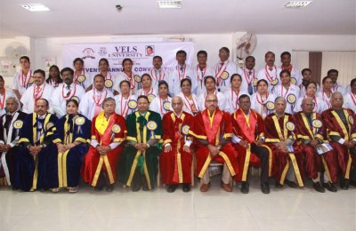 Seventh Annual Convocation of Vel's University (25)