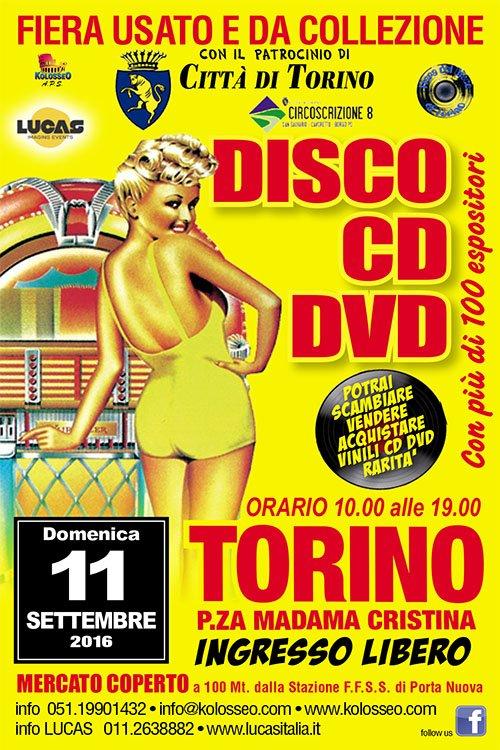 Fiera del disco - Torino  10x15-Torino-disco-11set16-1