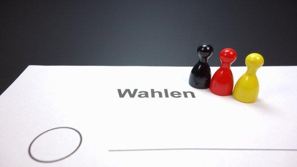 Wahlzettel - Deutschland