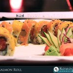 Golden Salmon Roll