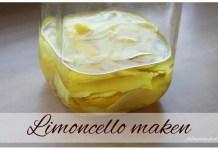 Limoncello maken