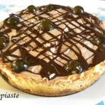 New York Cheesecake with Mars Chocolates and Fig Preserve