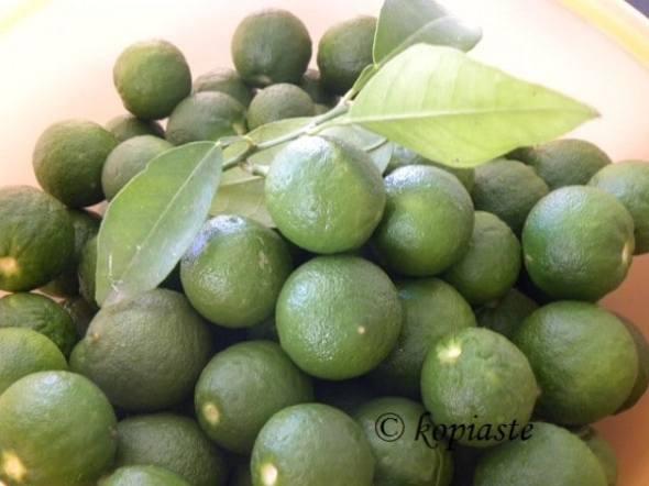 Nerantzakia - green bitter oranges