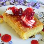Vegan Coconut Mandarin Samali (Semolina Cake) and How to Make Vegan Whipped Cream