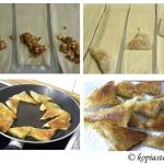 Πικάντικα Λουκανικοπιτάκια με Πράσα, Φέτα και Παρμεζάνα