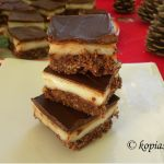 Eggless Nanaimo Salepi (Sahlab) Bars