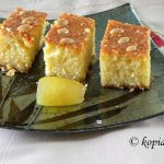 Coconut and Olive Oil Bergamot Revani Cake