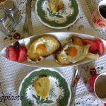 Brunch  ή κολατσιό:  Τηγανιτό Αυγό σε Φωλίτσα