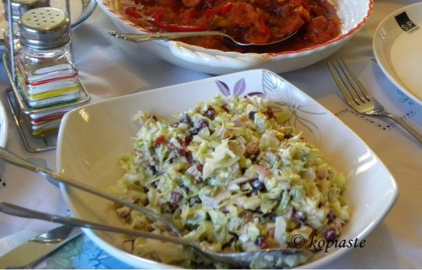 Lahanosalata2  (Cabbage Salad)