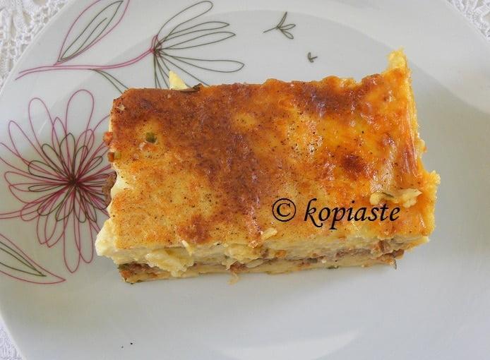 Pastitsio or Makaronia tou fournou 2