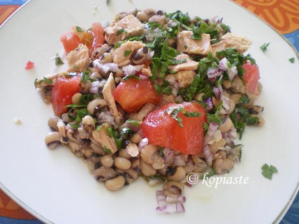 Fassolia mavromatika salata small