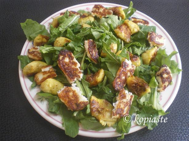 Rocket and fig salad