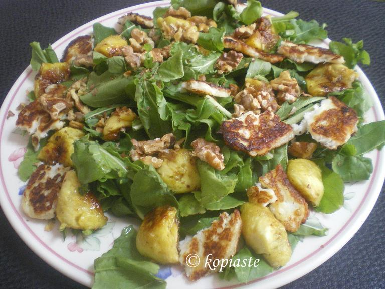 Rocket and fig salad2