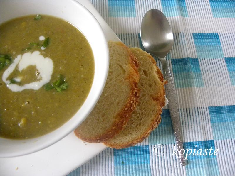 Leek and Vegetable Soup