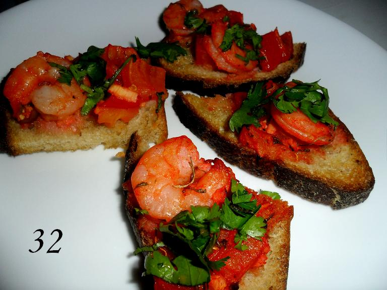 32 Tandoori Shrimp, by Rinku